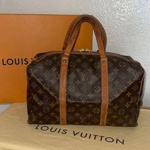 Authentic Louis Vuitton sac souple 35 Boston bag